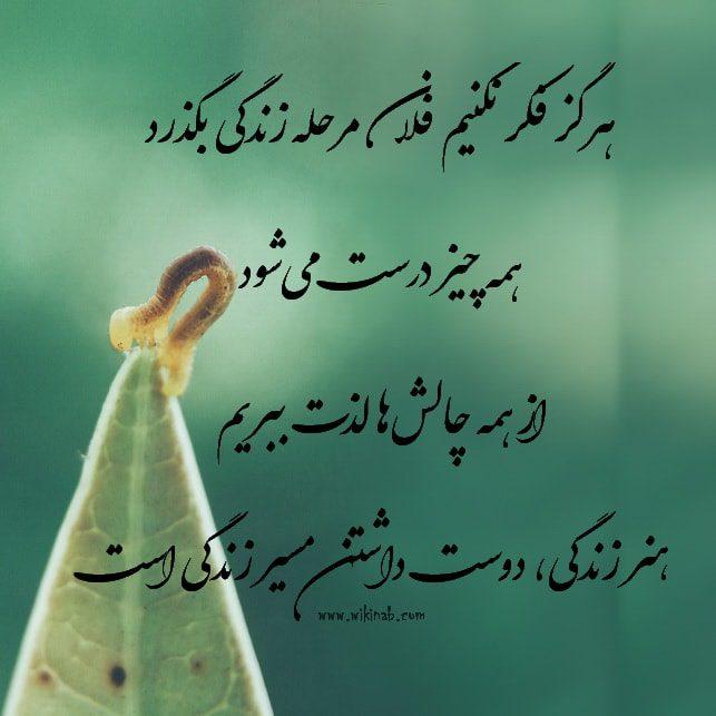 عکس نوشته زندگی زیباست