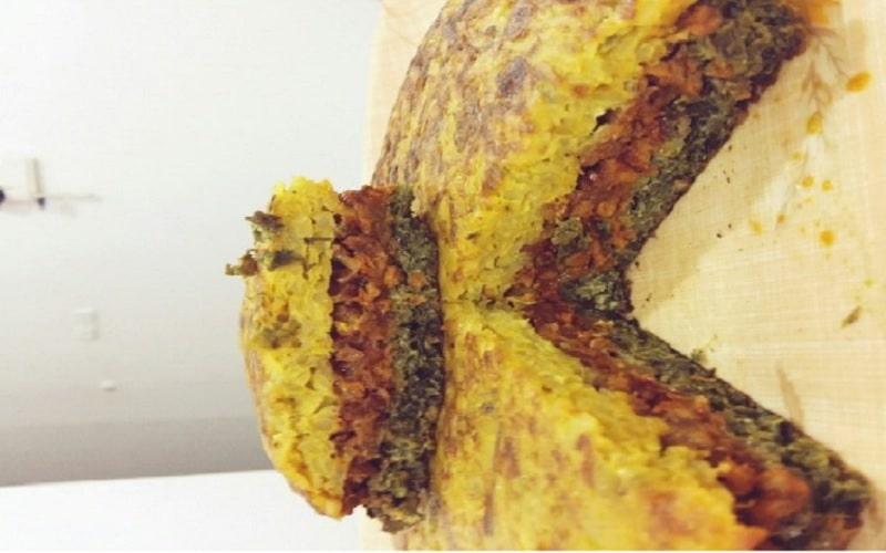 طرز تهیه کوکوی سه رنگ