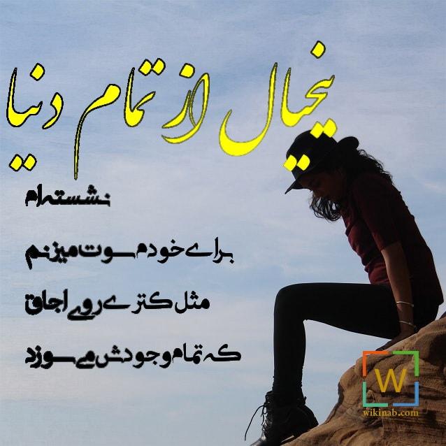 عکس نوشته دنیا