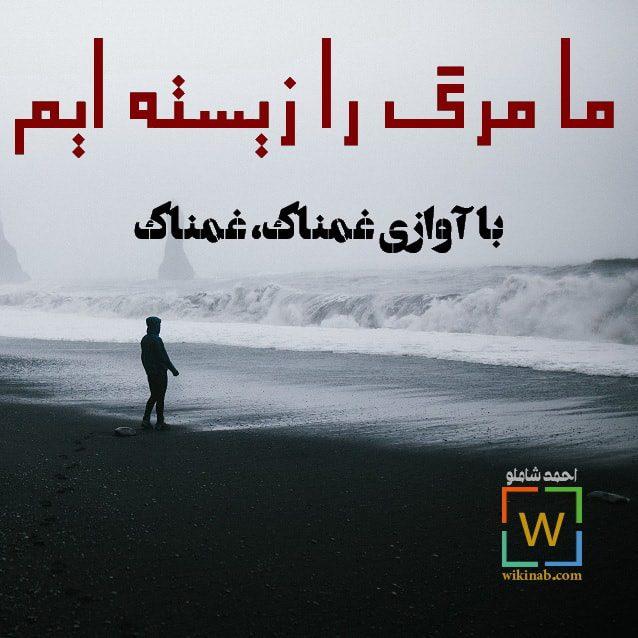 عکس نوشته جدید احمد شاملو